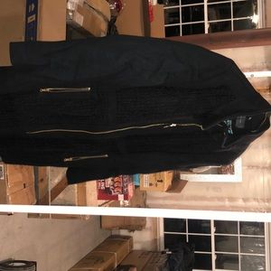 Size 10 black wool jacket